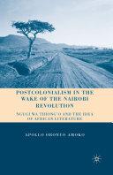 Postcolonialism in the Wake of the Nairobi Revolution Pdf/ePub eBook