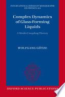 Complex Dynamics of Glass-Forming Liquids