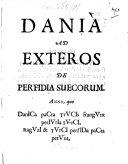 Dania ad Exteros de perfidia Suecorum