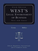 West s Legal Environment of Business