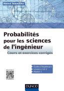 Pdf Probabilités pour les sciences de l'ingénieur Telecharger
