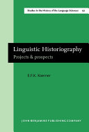Linguistic Historiography