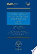 The IMLI Manual on International Maritime Law Volume II Shipping Law Book