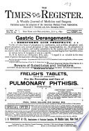 The Medical Times and Register Book