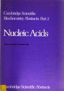 Cambridge Scientific Biochemistry Abstracts