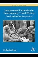 Pdf Interpersonal Encounters in Contemporary Travel Writing Telecharger