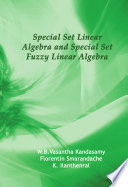 Special Set Linear Algebra and Special Set Fuzzy Linear Algebra