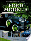 Collector s Originality Guide Ford Model A Book