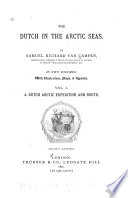 The Dutch In The Arctic Seas