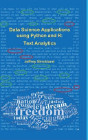 Data Science Applications Using Python and R