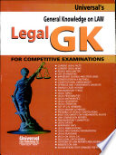 General Knowledge On Law Legal Gk For Competitive Examinations