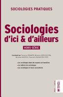Sociologies d'ici et d'ailleurs