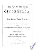 Cinderella, Or, The Little Glass Slipper Pdf/ePub eBook