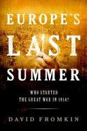 Europe s Last Summer Book