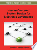 Human Centered System Design For Electronic Governance