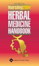 Nursing 2004 Herbal Medicine Handbook