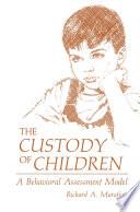 The Custody Of Children Book PDF