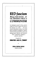 Red Fascism Boring from Within by the Subversive Forces of Communism ebook