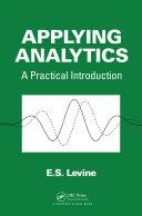 Applying Analytics Pdf/ePub eBook