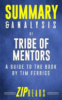 Summary   Analysis of Tribe of Mentors Book