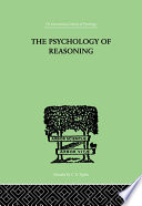 The Psychology Of Reasoning Book PDF