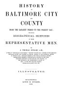 History Of Baltimore City And County