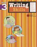 Writing Skills: Grade 3 (Flash Kids Harcourt Family Learning)