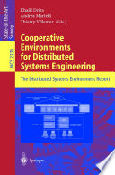 Cooperative Environments for Distributed Systems Engineering