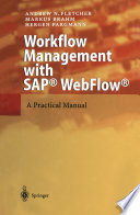 Workflow Management with SAP   WebFlow   Book PDF