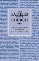Letters, Volume 1 (1–82) (The Fathers of the Church, Volume 12)