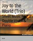 Joy to the World (Trio)