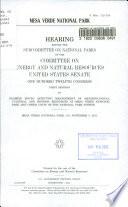 Mesa Verde National Park Book PDF