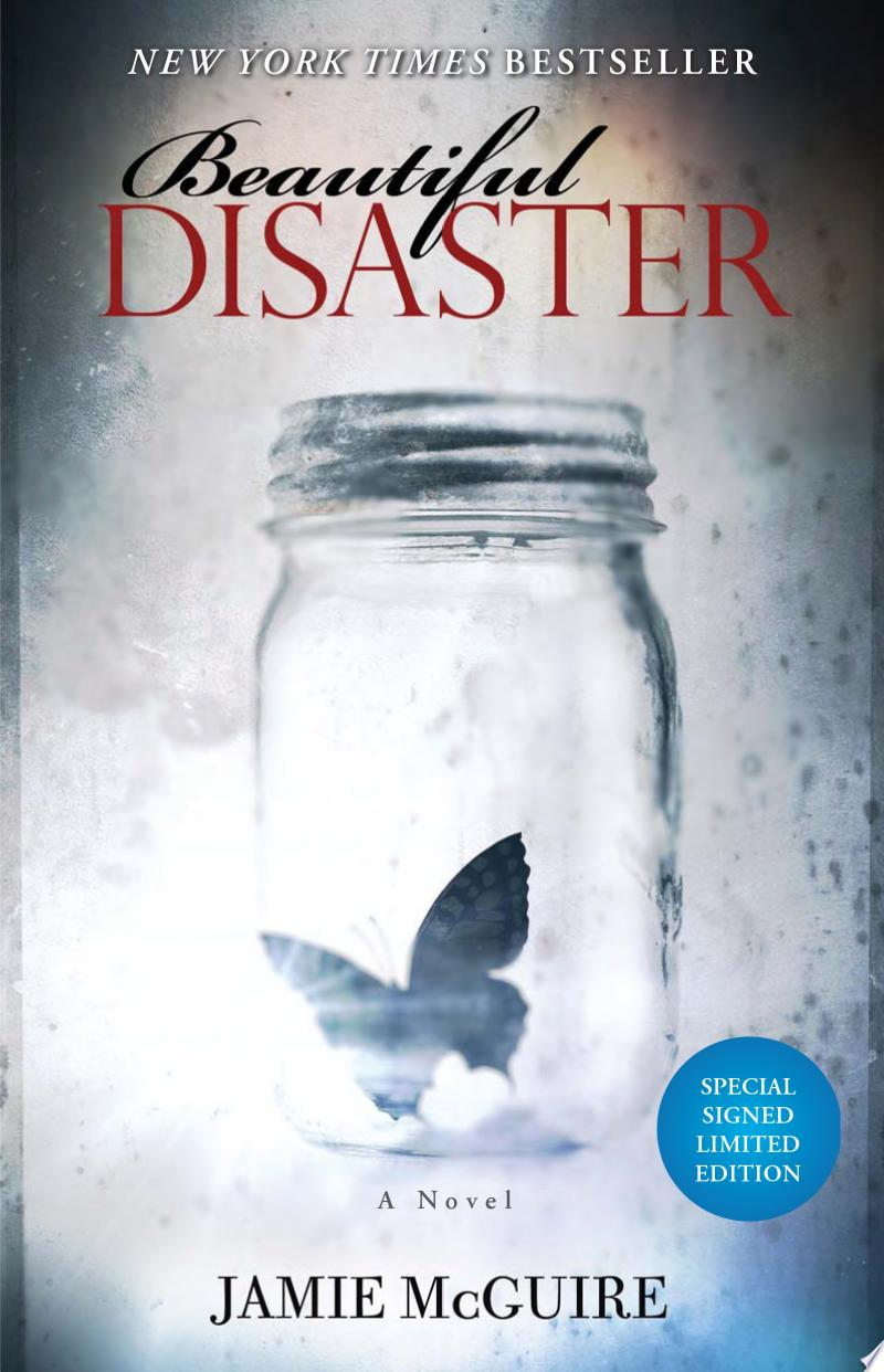 Beautiful Disaster Signed Limited Edition banner backdrop