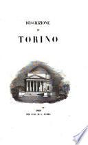 Descrizione di Torino. [With a plan.] F.P.