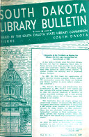 South Dakota Library Bulletin