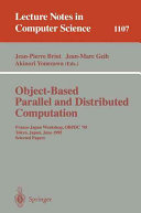 Object Based Parallel and Distributed Computation