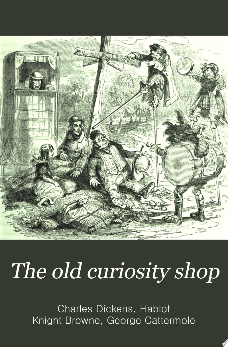 The Old Curiosity Shop banner backdrop