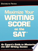 Maximize Your Writing Score on the SAT
