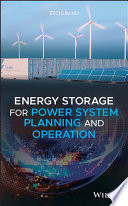 Energy Storage For Power System Planning And Operation Book PDF
