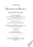 History of Russia Book