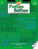 Prefixes And Suffixes Ebook
