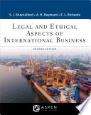 Legal and Ethical Aspects of International Business Book