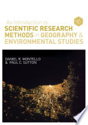 An Introduction To Scientific Research Methods In Geography And Environmental Studies Book PDF