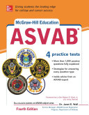 McGraw Hill Education ASVAB with DVD  Fourth Edition