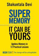 Super Memory Pdf/ePub eBook
