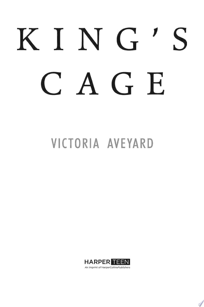 King's Cage image
