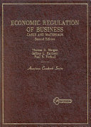 Economic Regulation of Business Book