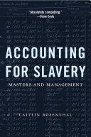 Accounting for Slavery [Pdf/ePub] eBook