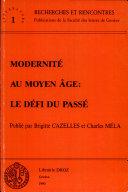 Modernité au Moyen Age
