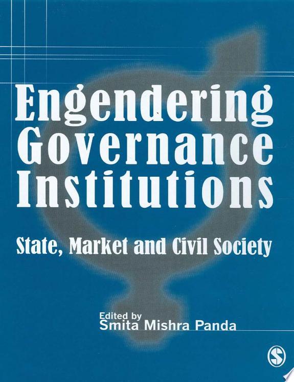Engendering Governance Institutions